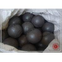China High Chrome Cast Iron Casting Steel Ball , Forged Steel Ball Grinding on sale