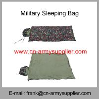 Wholesale Water resistant Polyester Oxford Camouflage Military Sleeping Bag Manufactures
