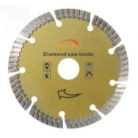 Stone Cutting 14 Diamond Concrete Saw Blade , Concrete Cutting Blades 105mm - 400mm Manufactures