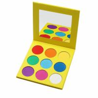 China Mineral Glitter Pigment Eyeshadow , Makeup Eyeshadow Palette With 9 Colorful Pans on sale