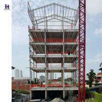 high quality of Q235 345 multi story steel structure building Manufactures
