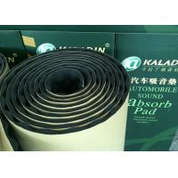 10mm Adhesive Acoustic Insulating Foam Moisture proof Noise Reducing Material Black Manufactures