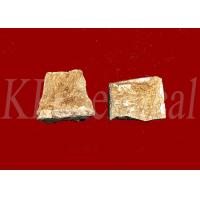 China Refine Copper Alloy Grains Rare Earth Alloys , Copper Lanthanum Alloy CuLa Master Alloy on sale