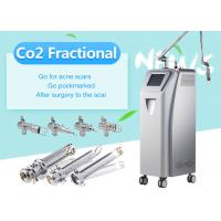 Clinic Co2 Fractional Laser Skin Resurfacing Equipment / Scar Removal Machine Manufactures