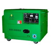 Quality Electric Silent Diesel Generator Set , 5KW 5.5KW Power Generator for sale