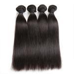 Double Machine Weft Virgin Human Hair Bundles Long Straight Hair ExtensionsFor Thin Hair Manufactures