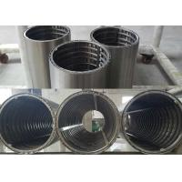 OD 190mm Wedge Wire Screen Filter Element With Reinhance Wire Inside Manufactures