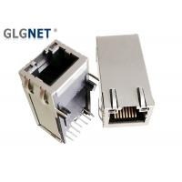 Buy cheap 1G Industrial Magnetic RJ45 Connector Latch Up Time Saving With LEDs from wholesalers