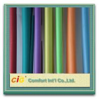 Woven Vinyl PVC Clear Sheet Chenille Style Soft Felling For Package Manufactures