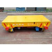 Cable power driving system steel cast wheel self-propelled trailers on railway Manufactures