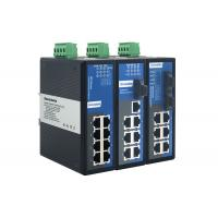 DIN Rail Mounting 8 Port Gigabit Switch With Low Power Consumption Manufactures