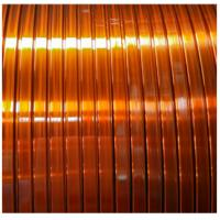 120 Class Polyvinyl Acetal Enamelled Copper Winding Wire Self - Adhesive Flat Manufactures