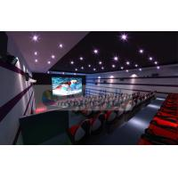 Luxurious Decoration 7D Movie Theater With Large Silver Screen And Movable Seats Manufactures