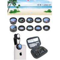 2019 new design 10 in 1 cell phone camera lens for all smart phones Manufactures