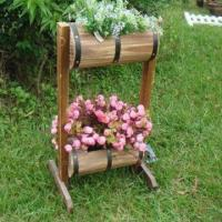 Wooden Flower Pot, Measuring 37 x 30 x 70cm, Customized Designs, Sizes and Shapes Available Manufactures
