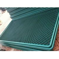 PVC Coated Wire Mesh Fencing Chain Link Fence For Security And Protection Manufactures