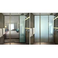 Transparent Glass Window Privacy Film , Energy Saving Switchable Privacy Glass Manufactures