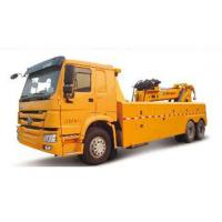 Durable Higher Efficiency Wrecker Tow Truck , Breakdown Recovery Truck For Treating Vehicle Accidents Manufactures