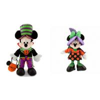 30cm Disney Plush Toys Halloween Time Mickey Mouse and Minnie Mouse Manufactures
