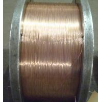 China Brass Rubber Tube Steel Wire Ropes , 2.35mm Diameter bead wire on sale