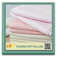 Multi Color Home Textile Products , Star Hotel Bedding Cotton Satin Bed Sheet Fabric Manufactures