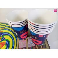 Eco Friendly Custom 270G with Single PE Coated Paper Cup for Hot Drinking