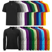 China OEM Colorfast Preshrunk Cotton Custom Mens Polo Shirts on sale