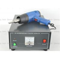 800w Hand Held Ultrasonic Plastic Welding Machine With Analog Generator 220V Or 110V Manufactures