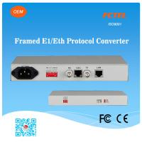 FCTEL E1 to 4 Channels 10/100Base-T Ethernet SNMP Managed Protocol Converter Manufactures