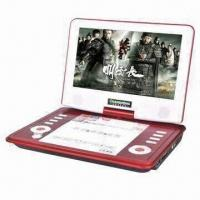 China 9-inch Portable DVD Player with LCD Screen, TV, USB, SD and Copy Functions on sale
