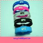 fashion colorful balance silicon power bracelet Manufactures