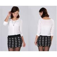 China Lady Knitted Skirt Sweater Fashion Garment (A3EOS7D) on sale