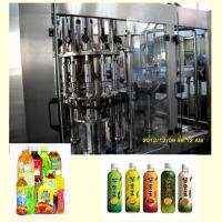 Fully Automatic Tea Hot Filling Machine / Packaging Machine 6000BPH 500ml Capacity Manufactures