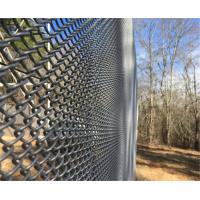 Heavy Zinc Coated Chain Link Fence Fabric Boundary Wall Galvanized Steel Manufactures