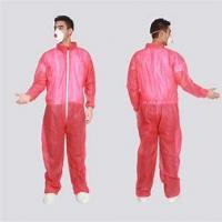 Buy cheap PP Cloth Non Toxic Breathable Disposable Painting Overalls Elastic Waist from wholesalers