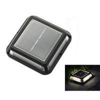 China Solar Road Marker Solar Stair Step Lights 12LED Solar Road Studs Outdoor Waterproof Fence Lighting on sale