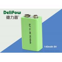 9V Ni-Mh Industrial Rechargeable Battery 140mAh For Power Tools  Manufactures