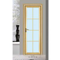 Silver aluminium glass doors office tempered interior for Triple french doors for sale
