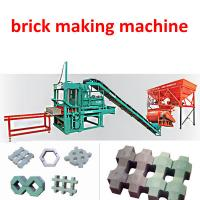 China High Production Semi- Automatic Cement Bricks Machinery on sale