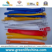 High Quality PVC Colorful Tape Type Luggage Tag Loop W/Logo Manufactures