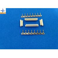 Dual Row Wire To Pcb Connectors 1.0mm Pitch Connector A1004H Housing With Bump Manufactures