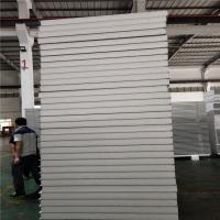 0.326mm plosytyrene sandwich panel 5000x1150x50mm for worker camp Manufactures