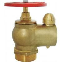 """Red / Brass  2"""" BSP  Fire Hydrant Valve High Pressure Single Hydrant Valve Manufactures"""