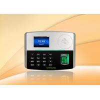 BioID fingerprint sensor and card time attendance system support POE Function Manufactures