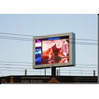 China Energy Saving 1R1G1B1W Led Billboard Signs Outdoor IP65 Full Color on sale
