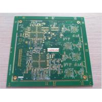 High Density Interconnect HDI Printed Circuit Boards 12 Layers Min 2 Mil Line Width High TG Manufactures