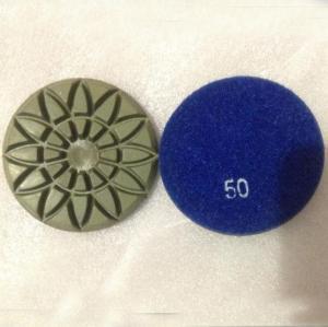 China Rosette Diamond Marble Floor Polishing Pads on sale