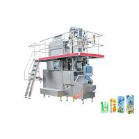 China High Automation Beverage Filling Line For Aseptic Brick Carton Box on sale