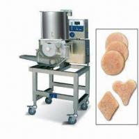 China Burger Forming Machine for Meat Pie Filling, Forming and Outputting Automatically on sale