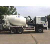 6x4 8M3 Concrete Mixer Tank Truck Sinotruk Howo7 White Color Hw76 Cabin Manufactures